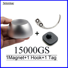 Golf Magnetic Detacher 15000GS Universal Tag Remover Magnet+1 Key Detacher Hook Tag+1 Alarms RF8.2Mhz System EAS