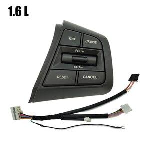Image 3 - Steering Wheel Cruise Control Button Switch For Hyundai Creta Ix25 1.6L 2.0L Remote Control Volume Button Right Side Blue Light
