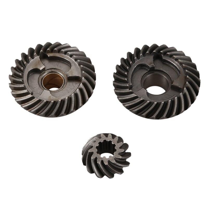 Gear Set For Hidea 9.8F 2 Stroke 9.8HP Outboard Motor 3B2-64010-0 3B2-64020-0 3B2-64030-0