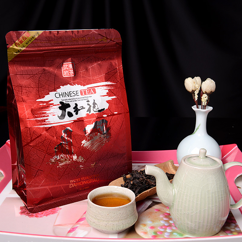 250g Chinese Da Hong Pao Tea Big Red Robe Oolong Tea The Original Green Food Wuyi Rougui Tea For Health Care Lose Weight