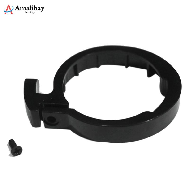 Front Tube Stem Folding Pack Insurance Circle Clasped for Xiaomi Mijia M365 Electric Scooter Guard Ring Replacement Parts