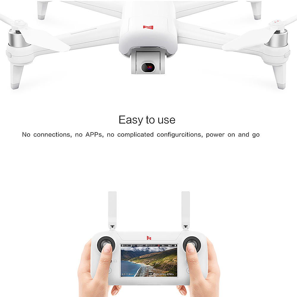 Image 5 - FIMI A3 GPS RC Drone with 1080P Camera  3 axis Gimbal 5.8G FPV Real time Transmission Aerial Photography RC QuadcopterRC Helicopters   -