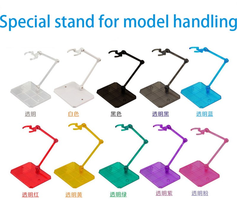 Action figure base suitable display stand bracket for 1//144 HG//RG wp