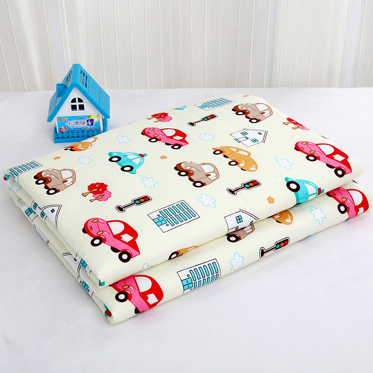 80*120CM  Changing Pads Covers Reusable Baby Diapers Mattress Diapers For Newborns   Waterproof Sheet Changing Mat