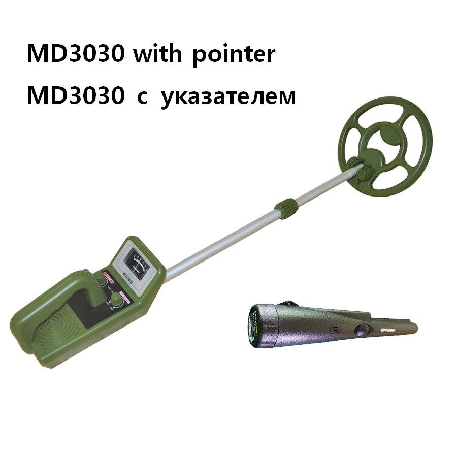 Underground wykrywacz metali MD3030 i przenośny wskaźnik czarny