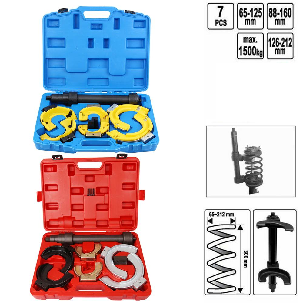 Samger Shock Absorber Spring Compressor Kit Removal Installer Strut Coil Spring Compressor With 6 Protectors