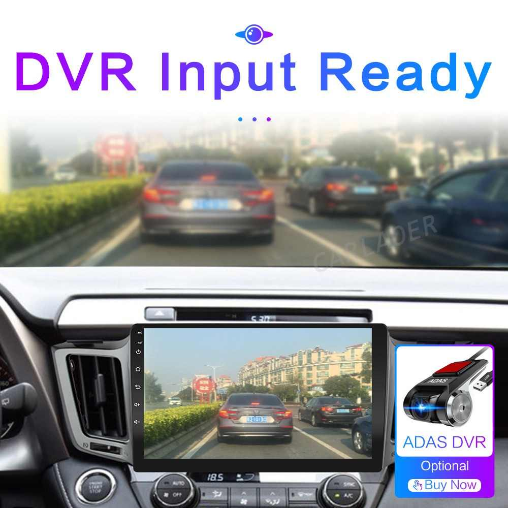 Untuk Toyota RAV4 4 XA40 5 XA50 2012 - 2018 Android 10 GPS Mobil Radio Stereo WIFI Peta Gratis Quad core 2 Din Mobil Multimedia Player
