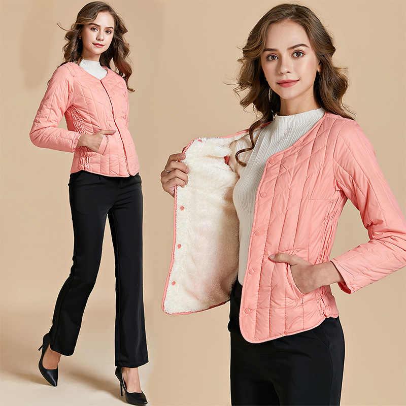 Winter Coat Women 2019 Plus Size Short Coat Ultralight Goose Down Jacket Women Thick Korean Warm Down Coat Luxury Winter Jackets
