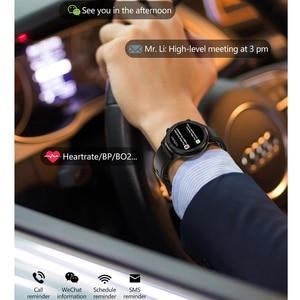 Image 3 - מלא מגע חכם שעון גברים נשים ספורט שעון קצב לב צג Smartwatch עבור IOS אנדרואיד טלפון PK S10