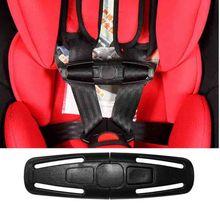 Lock-Buckle Belt-Harness Chest-Clip Latch-Fastener Car-Safety-Seat-Strap Nylon Baby Children