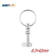 Ring Bimini-Top Quick-Release-Pin Bset Matel with for Boat Deck-Hinge Marine Hardware