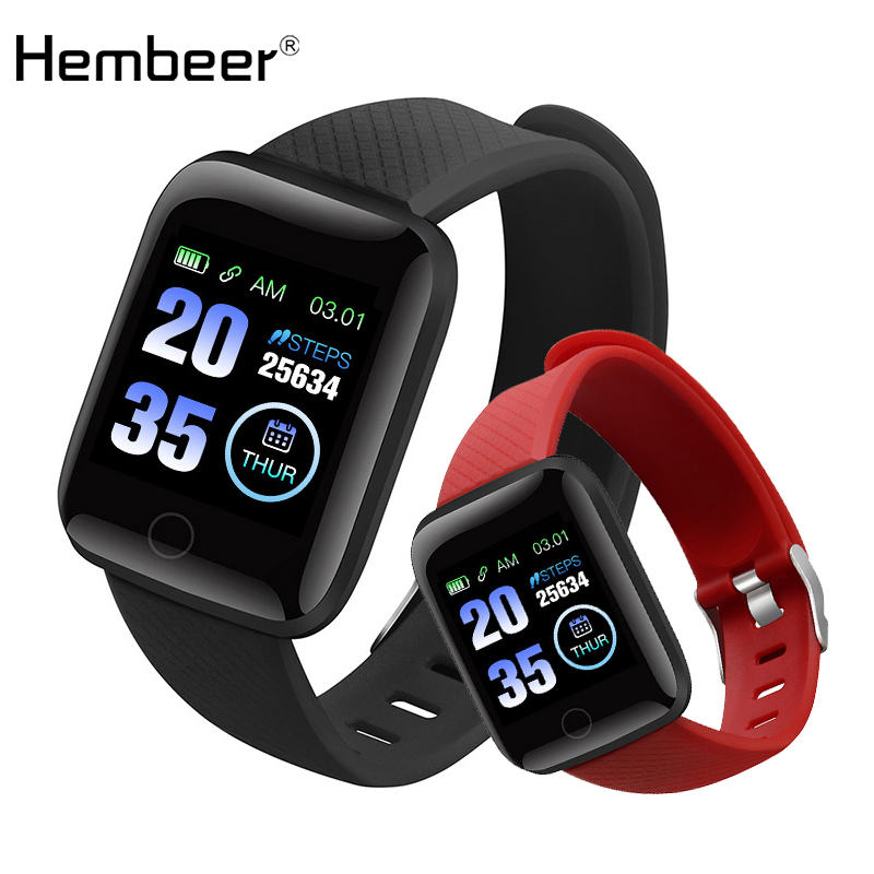 hembeer D13 Fitness Watches Smart Watch Heart Rate Monitor Blood Pressure Monitor for ios Android Iphone phone