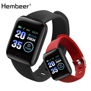 hembeer D13 Fitness Watches Smart Watch Heart Rate Monitor Blood Pressure Monitor for ios Android Iphone phone(China)
