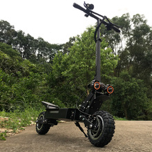 FLJ 5600W Dual Engine Electric Scooter with 11inch off road tire Strong power best kick scooter e bike hoverboard scooter