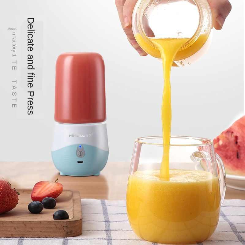 300 мл 4 лезвия портативная электрическая соковыжималка для фруктов домашняя USB перезаряжаемая смузи машина блендеры Спортивная Бутылка Соковыжималка чашка
