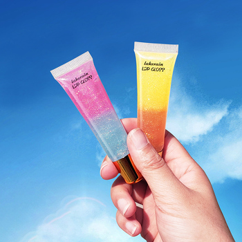 Hidratante plumping labial gloss plumper maquiagem glitter nutritivo líquido batom cereja óleo mineral cor dupla brilho labial