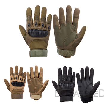 Touch Screen Motorcycle Gloves Winter Full Finger Dirt Bike Racing Riding Gloves Leather Enduro Off Road Motocross Gloves 2