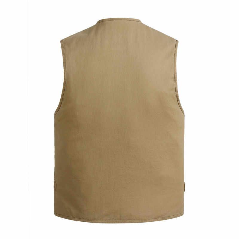 2020 가을 봄 옷 민소매 자켓 데님 조끼 남자 사진 생선 얇은 조끼 플러스 사이즈 XL-4XL 5XL 6XL 7XL