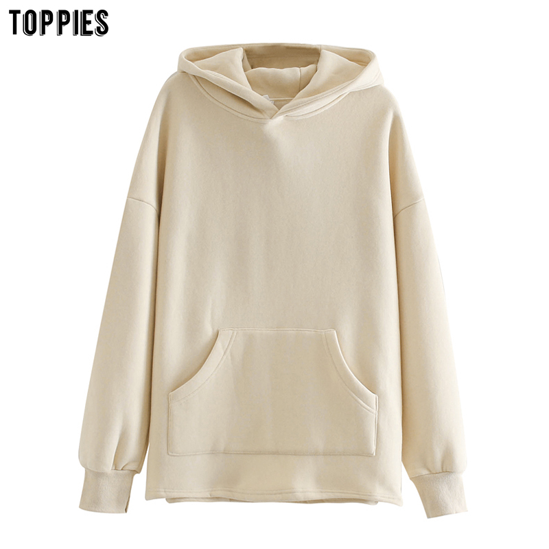Permalink to toppies Loose Oversize Hoodies Woman Sweatshirt autumn winter Female fleece hoodies 2020 women Sweat-shirts