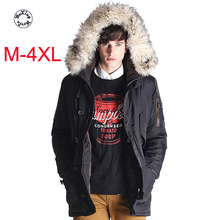 Men's warm down jacket European and American fashion thickened coat youth hooded wool collar down jacket 2016 european and american female winter hooded down jacket big yards thick warm coat hot new