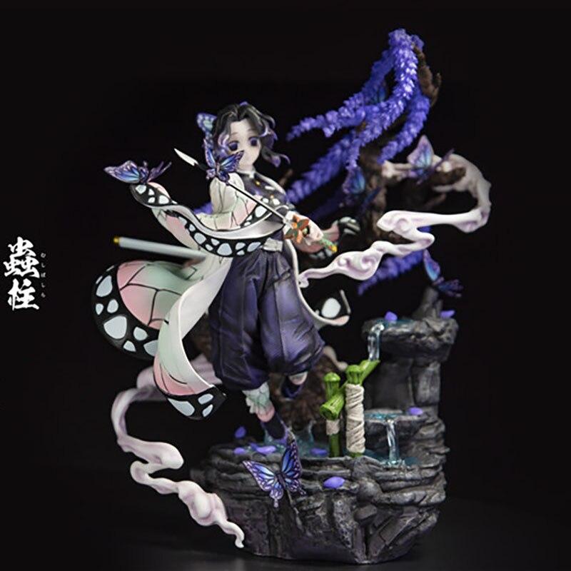 Demon Slayer Blade Worm Pillar Butterfly Ninja GK Limited Statue Figure 1