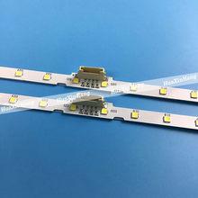 50 pçs/lote Tira Retroiluminação LED Para Samusng AOT_55_NU7300_NU7100 55NU7100 UE55NU7300 UE55NU7100 UE55NU7105 BN96-45913A BN61-15485A