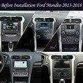 Автомагнитола PX6, система Android 13,6 дюйма для Ford Mondeo 2013-2017 Tesla, вертикальная Автомобильная GPS-навигация, видео, Мультимедийный MP3-плеер