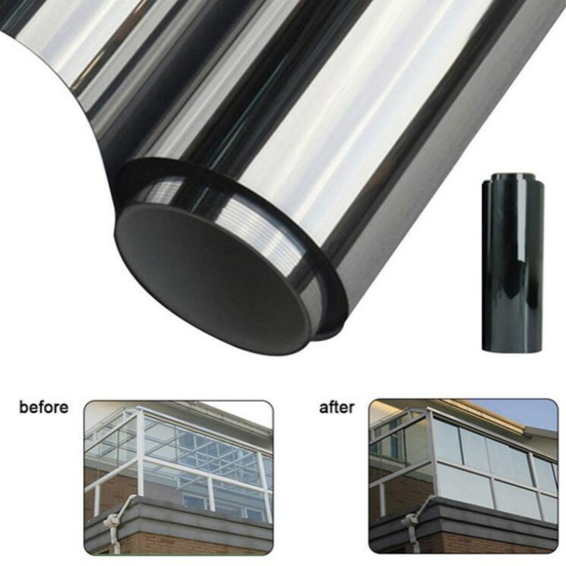 Image 2 - 300cmx50cm Black Car Window Foils Tint Tinting Film Roll Car Auto Home Window Glass Summer Solar UV Protector Sticker Films-in Side Window from Automobiles & Motorcycles