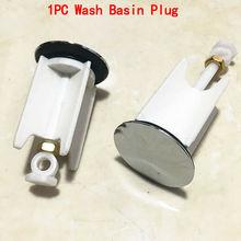 Универсальная пробка для умывальника, Стопорная пробка для ванной комнаты, регулируемая кухонная ванна, легко вставляется, практичная, HG13848
