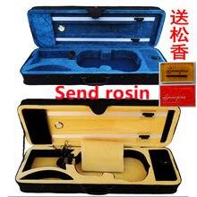 Super leve caixa de violino paco mesa ouro tiras duplas capa 1/4/81/23/44/4