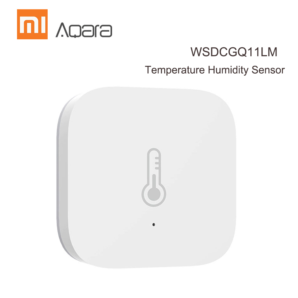 Xiaomi Aqara Smart Air Pressure Temperature Hu Mi Dity Sensor Environment Sensor ZigBee Wireless Control Works With Mi Home App
