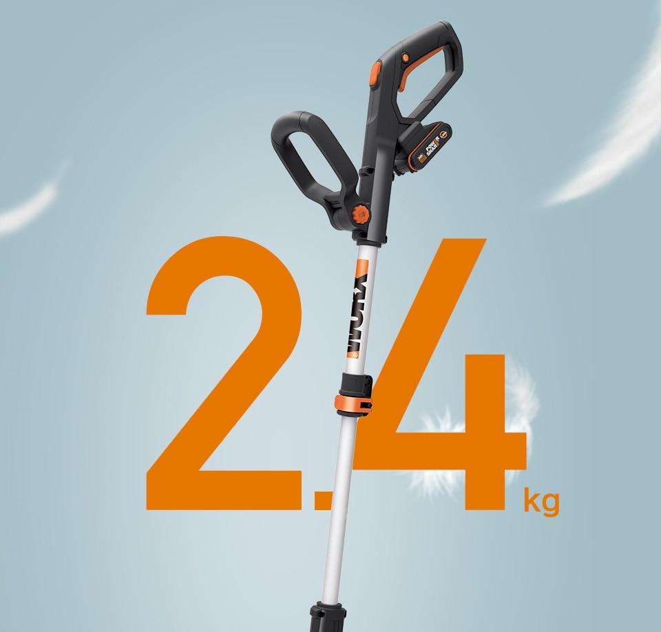 WORX Cordless Grass Trimmer 2.4 kg