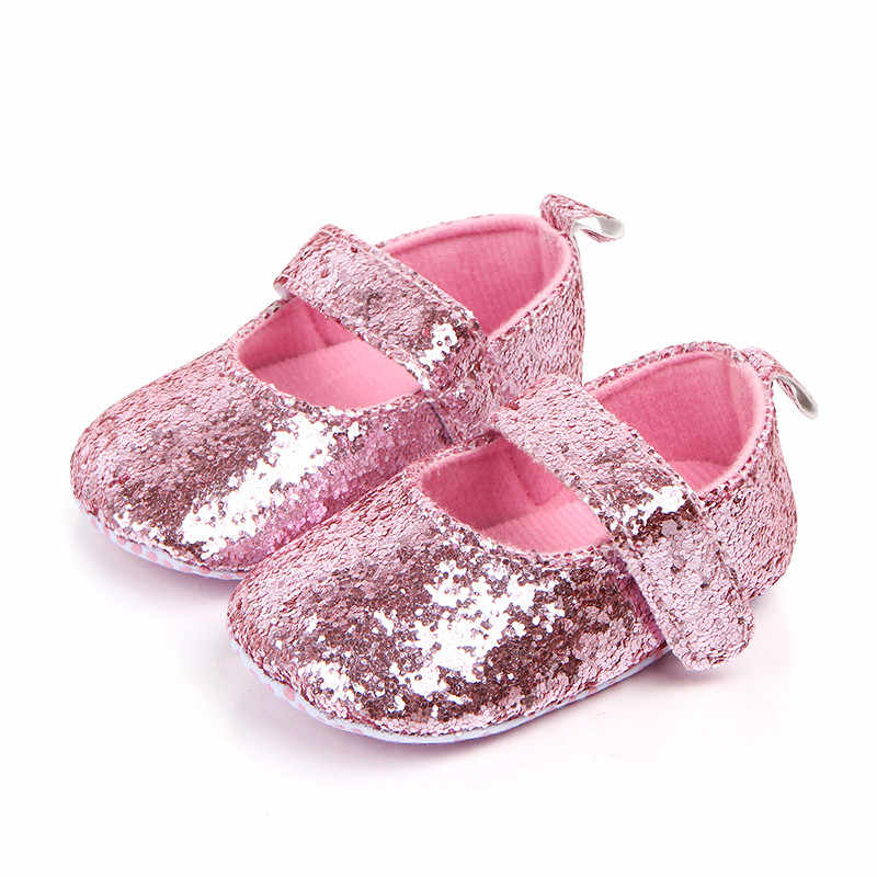 baby boy and girl shoes детская обувь пинетки Toddler Girl Soft Sole Crib Shoes Sequins Sneaker Baby Shoes baby first walkers