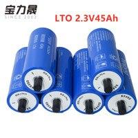 2.3V 2.4V LTO 45AH 6S 12V45AH original 10C YINLONG 66160H Titanato De Lítio 2.4v Célula de Bateria 450A para 12v EV 14.4v carrinho de golfe|Baterias recarregáveis| |  -