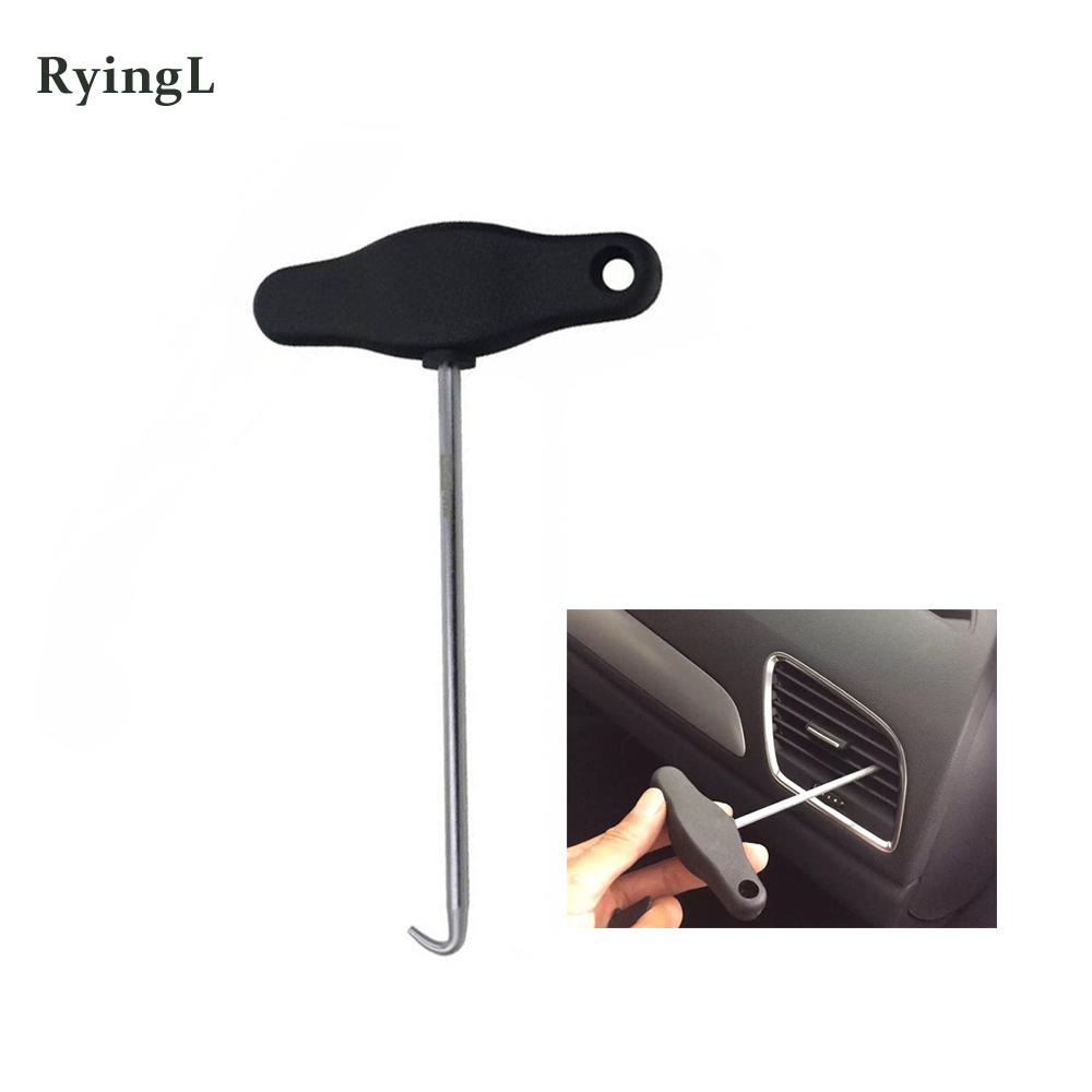 3438 T  Handle Handbrake Pull out H ook V W A udi Removing And Installing Tool Dash Board Trims Removal Tool Hand Tool Sets     - title=