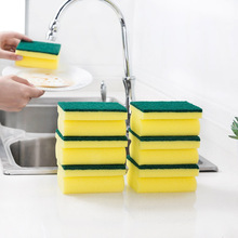 10pcs Cleaning Sponge Dishwashing Kitchen Bathroom Accessory 98*68*43mm Washing Brush Melamine Eraser Magic Diy Stocke E