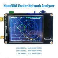 Kuulee NanoVNA VNA 2.8Inches LCD HF VHF UHF UV Vector Network Analyzer 50KHz-900MHz Antenna Analyzer Built-in Battery