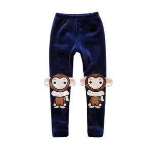 Image 5 - Ropa de invierno para niños y niñas, a la moda mallas finas, leggings gruesos de lana, pantalones largos, 2020
