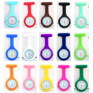 Fob Watches Brooch Tunic Pocket Bolsillo Free-Battery-Doctor Medical Silicone Fashion