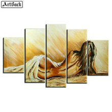 5d diy diamond painting woman back sexy full square landscape sticker mosaic embroidery home decoration