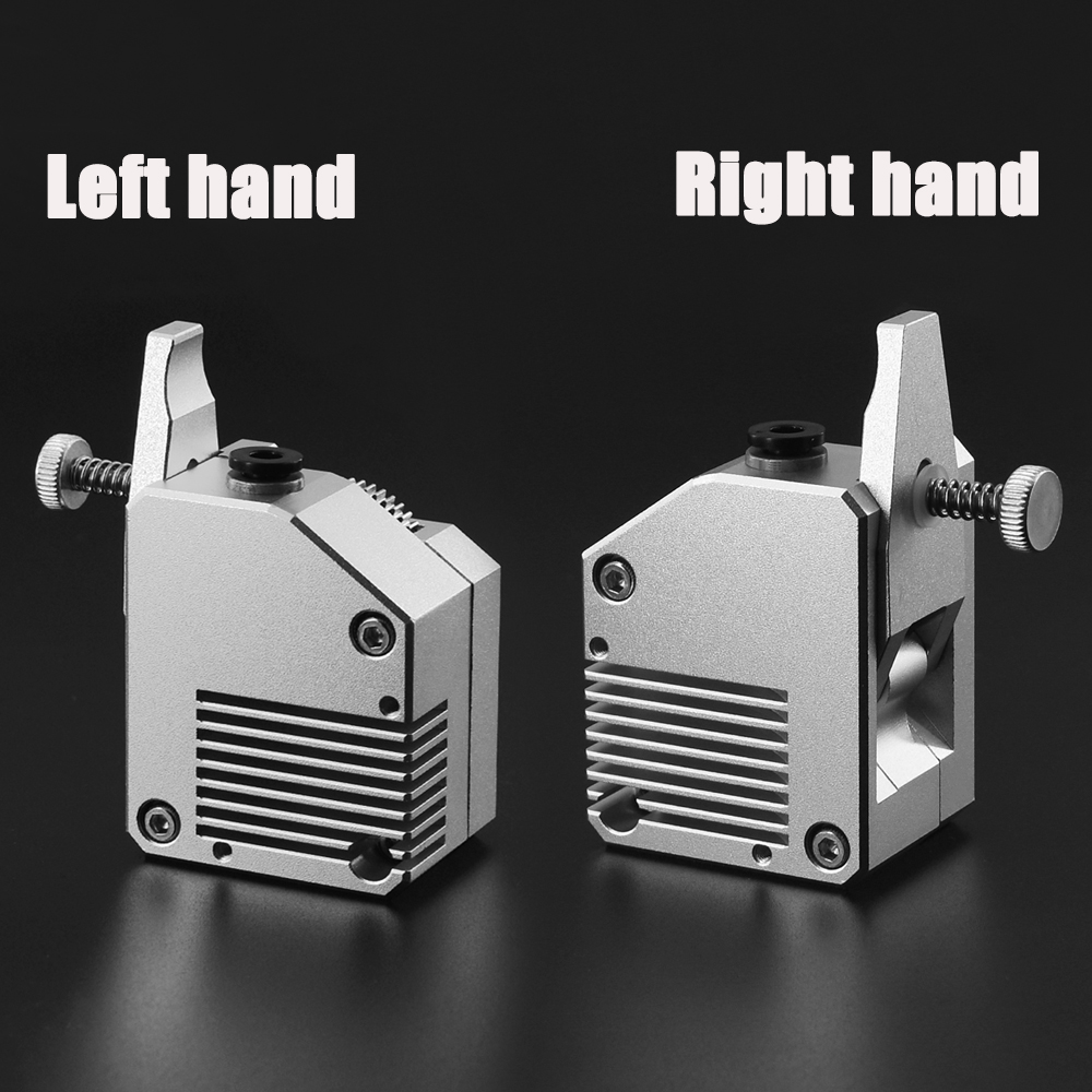 High Quality Dual Gear All Metal Bmg Extruder Bowden Dual Drive Extruder For <font><b>3d</b></font> <font><b>Printer</b></font> Mk8 CR10 <font><b>Prusa</b></font> <font><b>I3</b></font> <font><b>Mk3</b></font> Ender 3 image