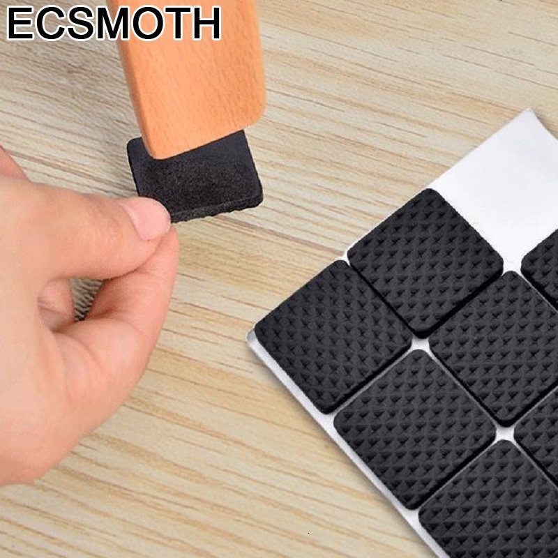 SSU#BAO 16pcs/lot Thickened Non-slip Mats Furniture Protection Stool Wear-resistant Dining Chair Leg Pad Protective Foot Cover