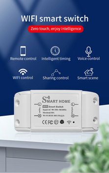 New DIY Smart Wireless Remote Switch Socket Smart Home Automation Remote Control Switch Relay Smart Life/Tuya with Alexa Google 1