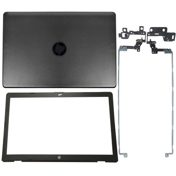 NEW For HP 17-BS 17-AK 17-BR Laptop LCD Back Cover/Front Bezel/Hinges 933298-001 926489-001 933293-001 926482-001 gzeele new laptop lcd hinges for hp 17 ak 17 ak013dx 17 bs 17 bs019dx 17 bs057cl lcd screen hinges 926527 001