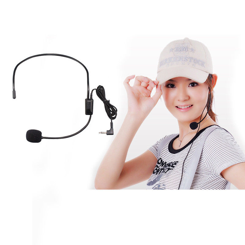 Headset Microphone For Educational Lectures Amplifiers 3.5 Interface Headset Microphone #H20