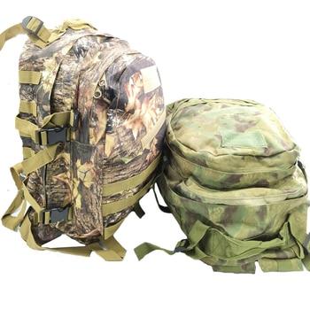 Mochila táctica militar de nailon, morral táctico de camuflaje, pesca, caza, Camping, senderismo, bolsa impermeable del ejército
