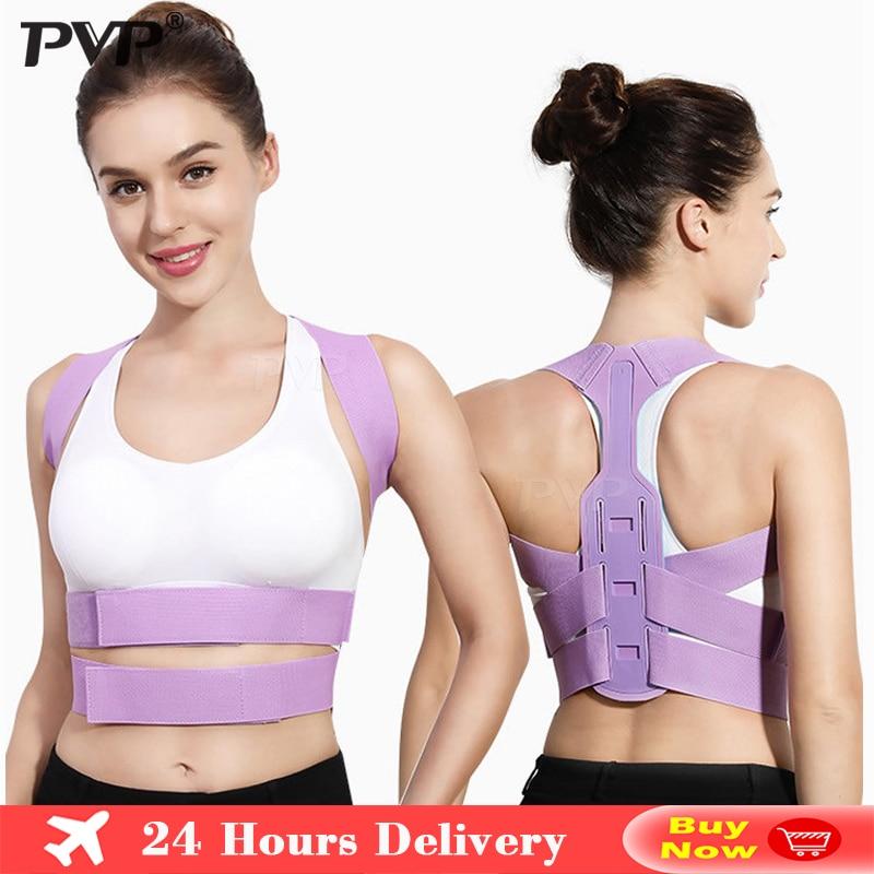 Brace Support Belt Adjustable Back Posture Corrector Clavicle Spine Back Shoulder Lumbar Posture Correction Corset For Posture
