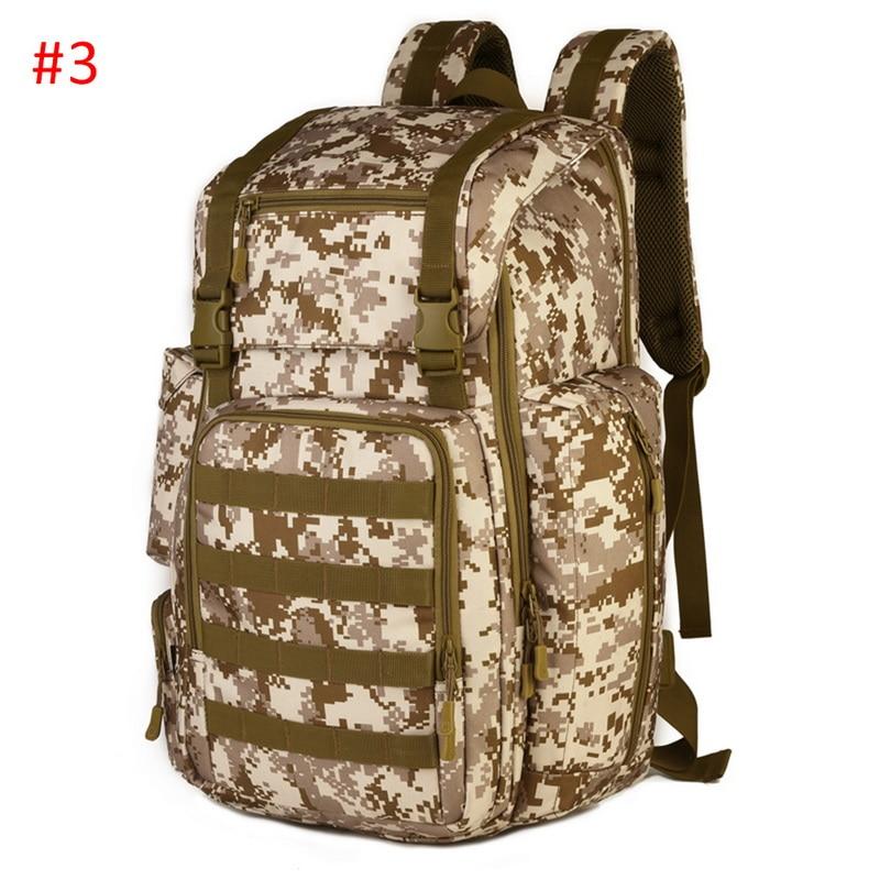 50L Large Capacity Men Military Tactical Backpack 3P Softback Outdoor Waterproof Bug Rucksack Hiking Camping Hunting Bags 2020