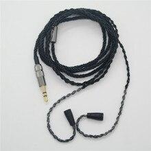 Sennheiser ie8 ie80 Cable de Metal negro para auriculares, HiFi, para iphone y Samsung