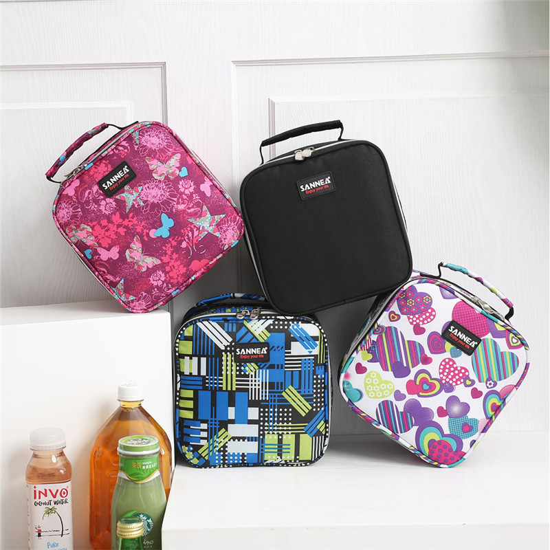 New Arrival Multifunctinal Lunch Bags Children Unisex Lunch Pack Insulated Box Bag Kids Boys Girls School Food Picnic Box